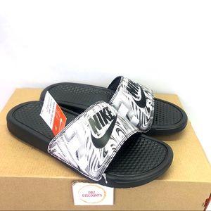 Nike Bessani JDI Print Slide Size Men's 7 / W 8.5